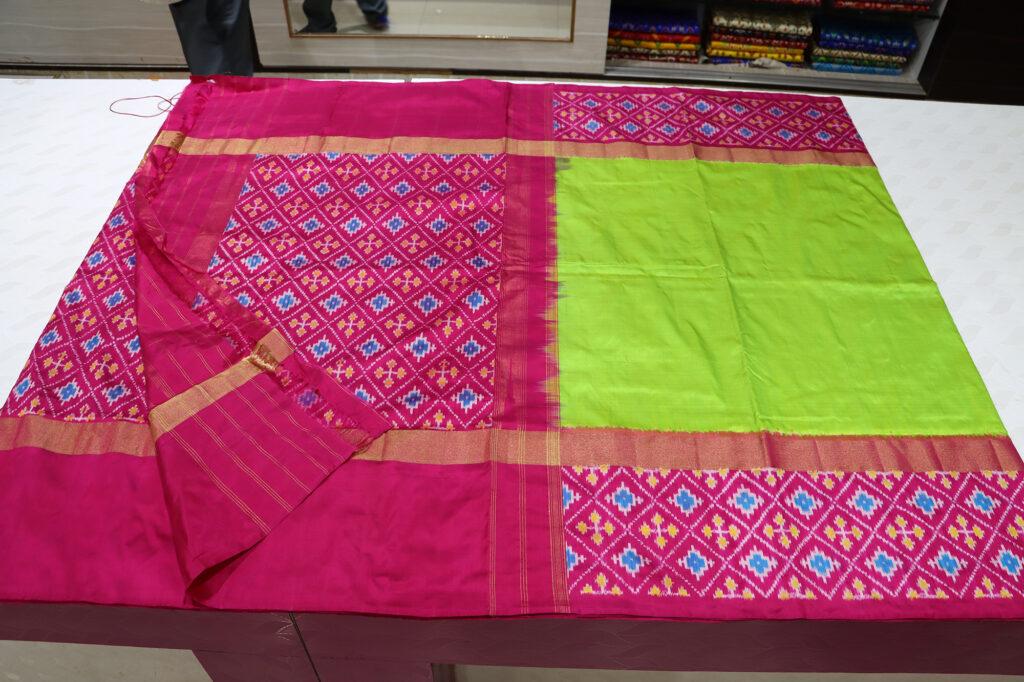 Pochampally Ikkat Designer Handloom Sarees
